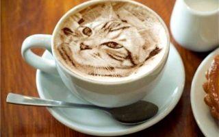 Что такое латте-арт и как делать рисунки на кофе