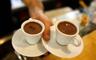Кофе доппио — двойной эспрессо