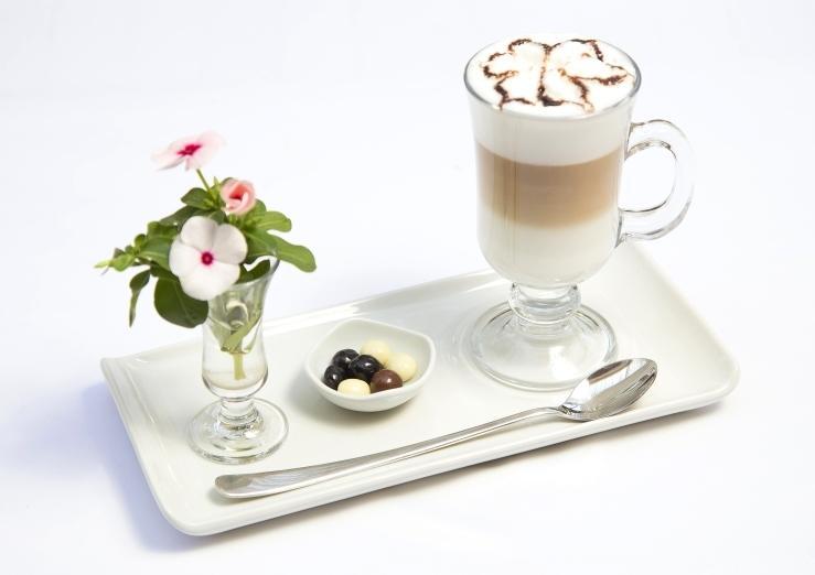 Мокко с белым шоколадом