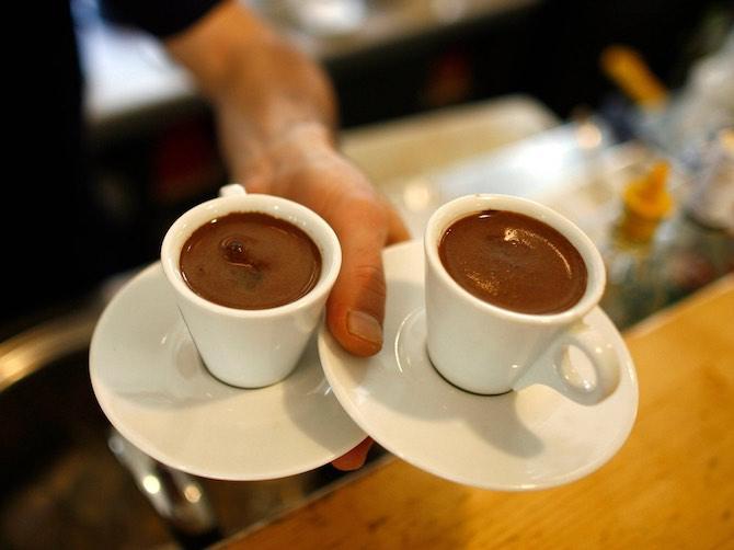 Кофе доппио - двойной эспрессо